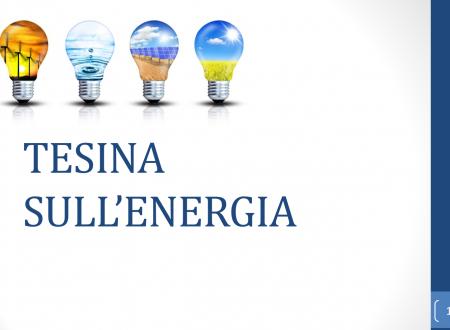 Tesina pronta sull'Energia – Tesine pronte Terza Media