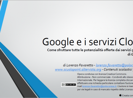 Google e i Servizi Cloud – Ricerca Informatica