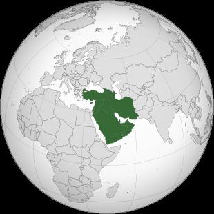 Asia occidentale – Riassunto