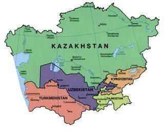 Asia centrale – Riassunto